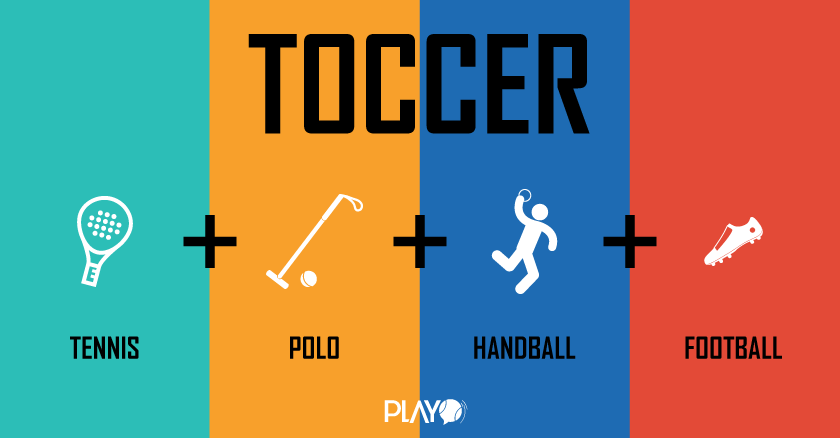 Hybrid Sports - Tennis + Soccer + Polo + Handball = Toccer, Chess Boxing, FootVolley
