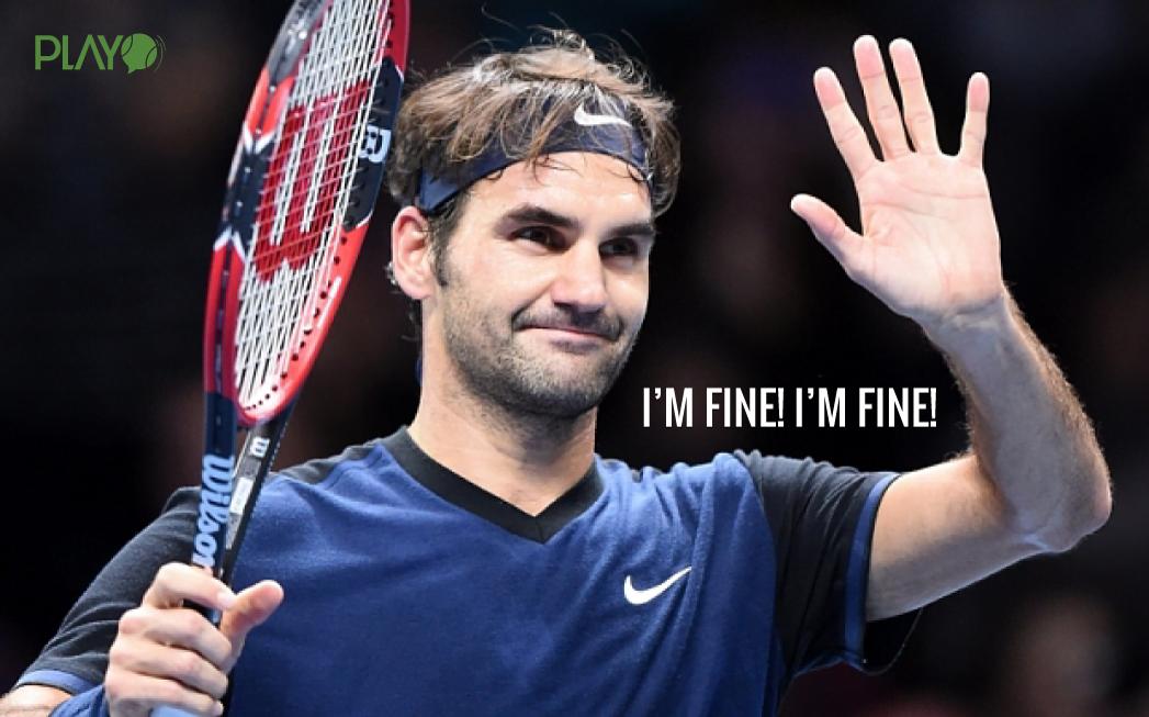 Roger Federer INJURIES