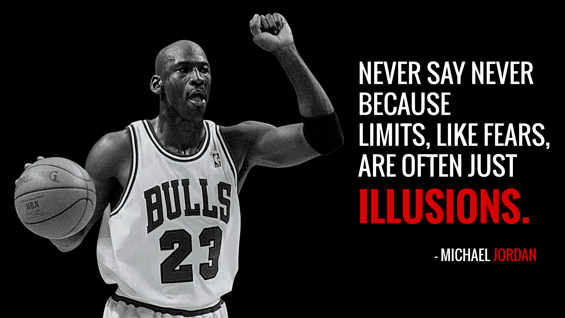 "Positive Sports Quotes: ""Never Say Never Because Limits, Like Fears, Are Often"