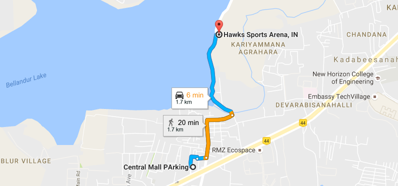 Hawk-Sports-Arena-Location