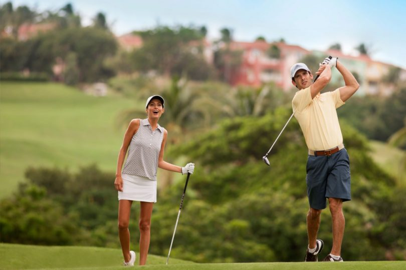 Couples-Playing-Golf