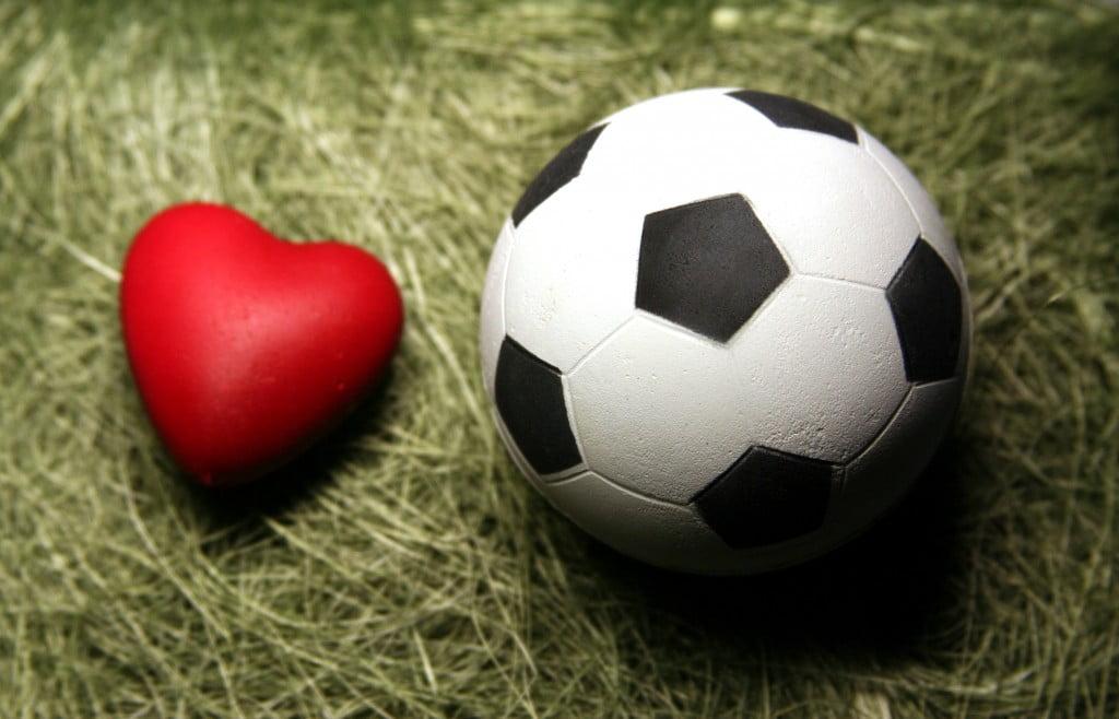 Heart-Football