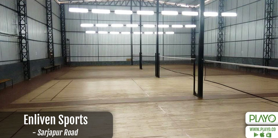 Enliven Sports Badminton Sarjapur Road