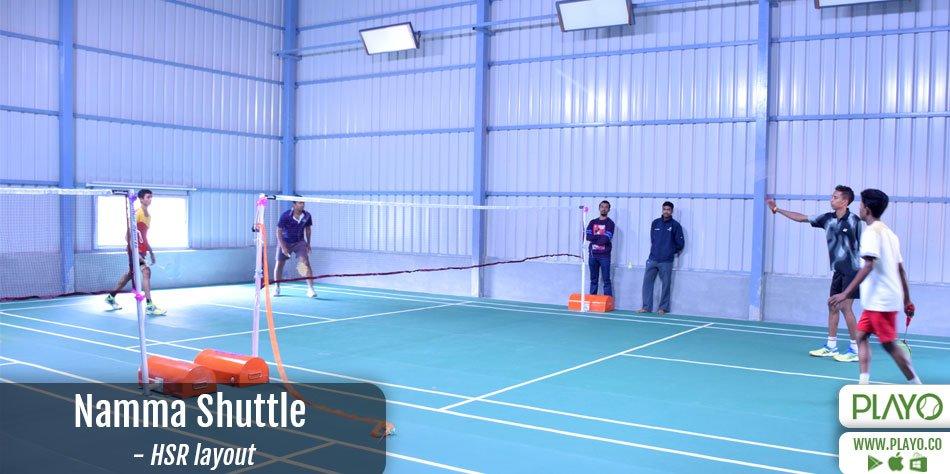 Namma Shuttle Badminton HSR