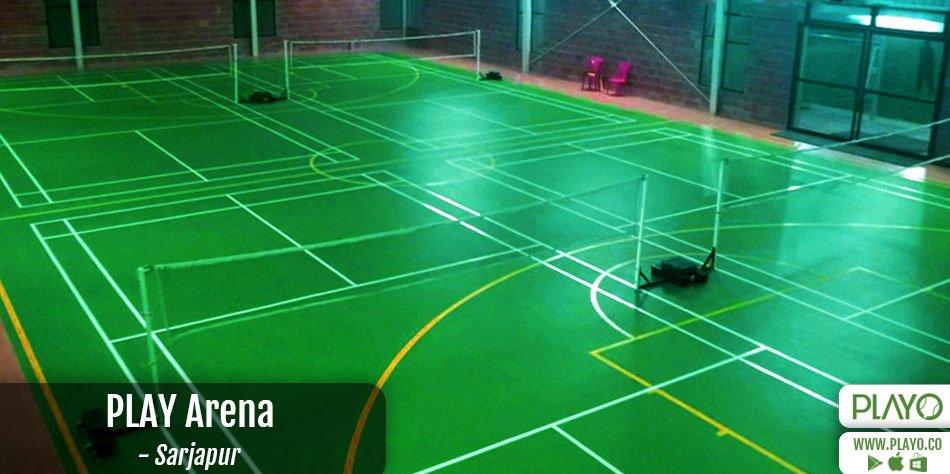 Play Arena Badminton Sarjapur