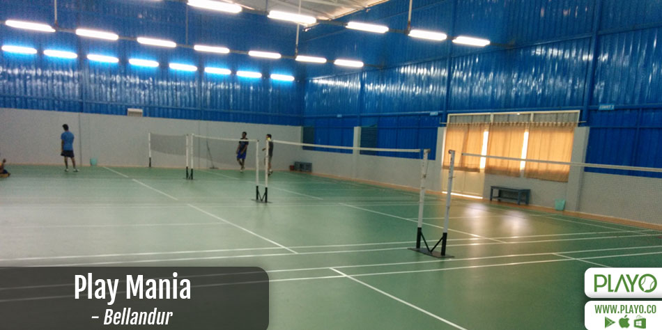 Play Mania Badminton Bellandur