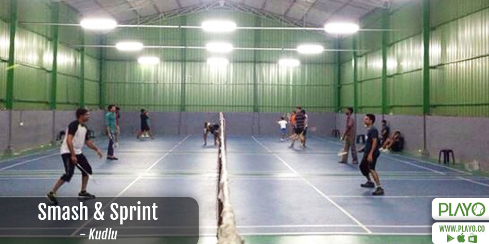 Smash and Sprint Badminton Kudlu
