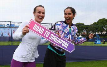 Tennis Doubles Martina Hingis and Sania Mirza