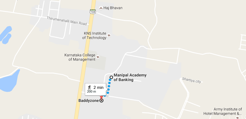 Baddyzone located close to Manipal