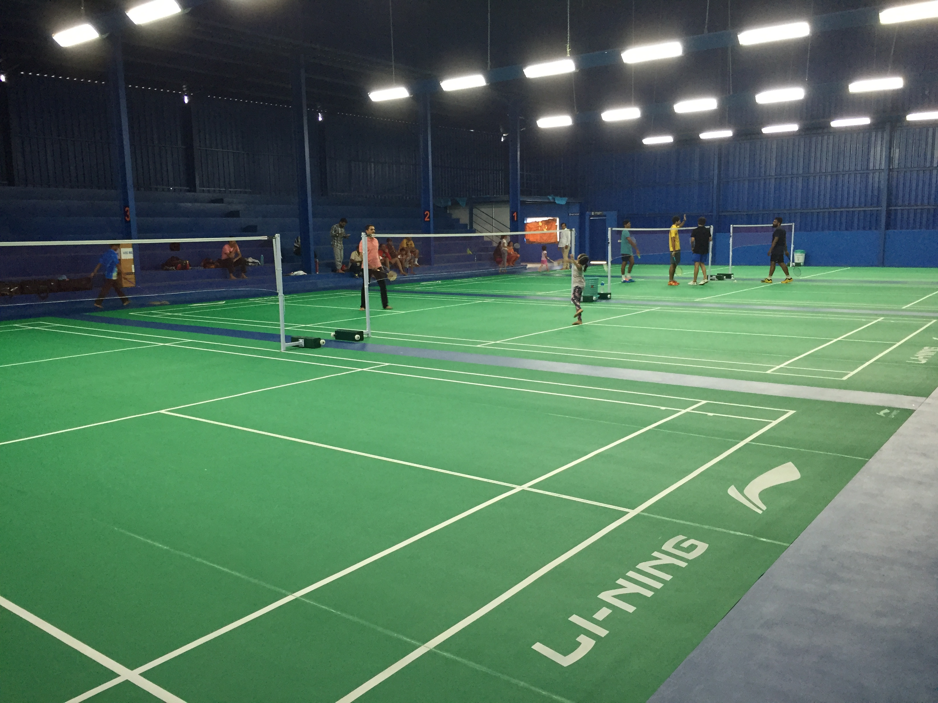Badminton Courts at Baddyzone Bangalore