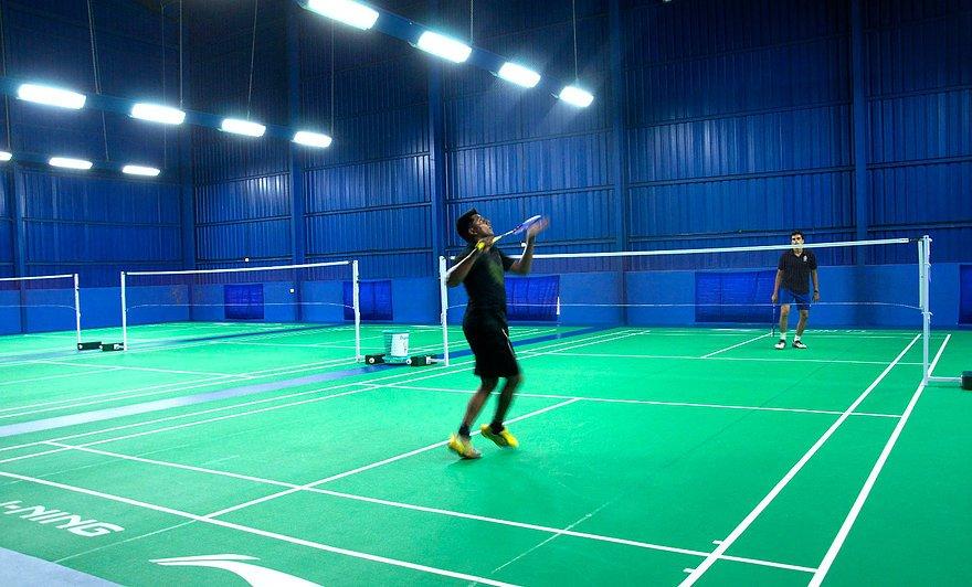 Baddyzone badminton Tirumanahalli Bangalore