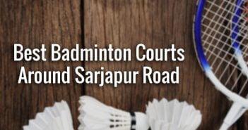 badminton courts around Sarjapur Road in Bangalore
