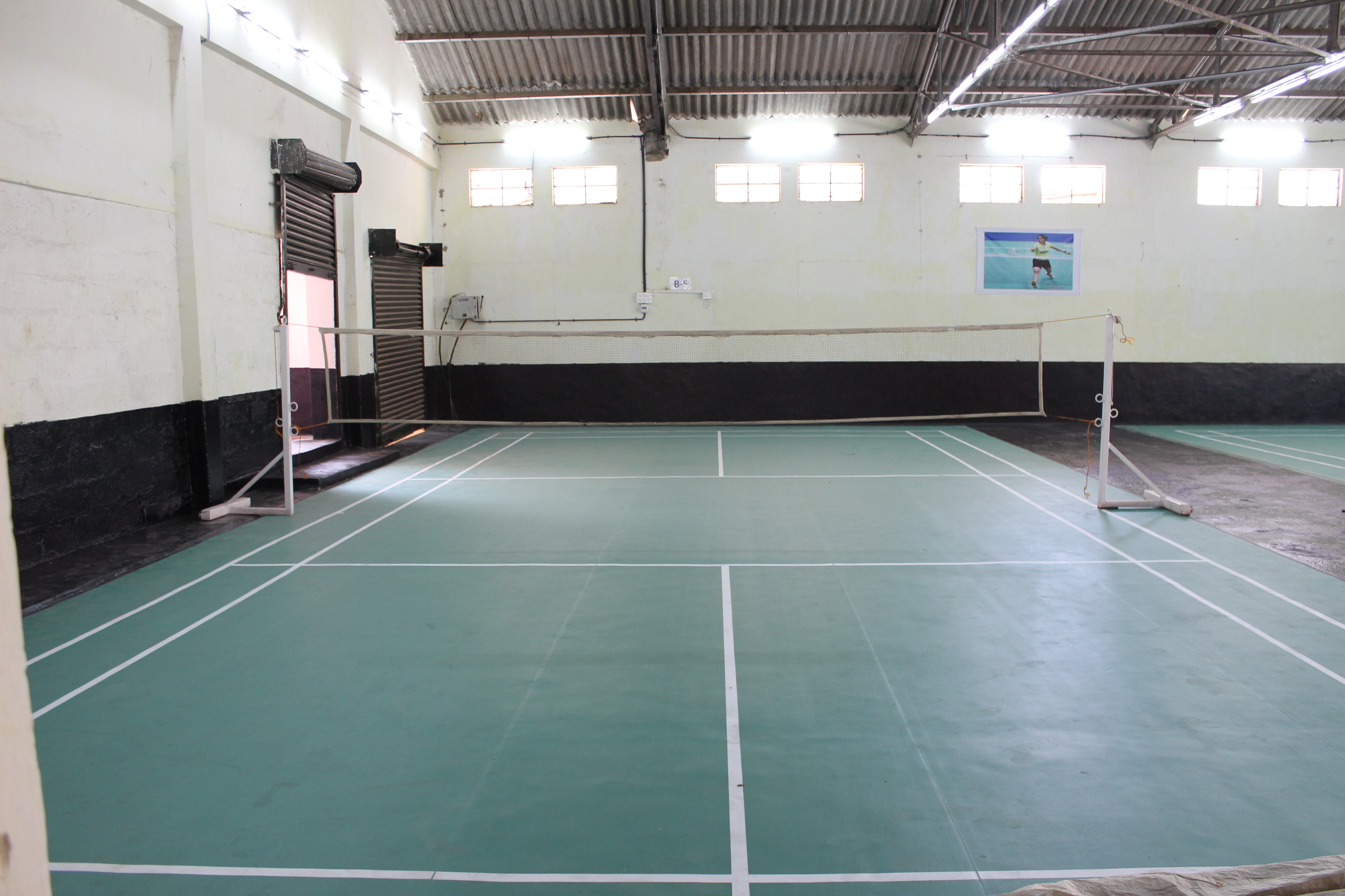 Badminton courts at DHI