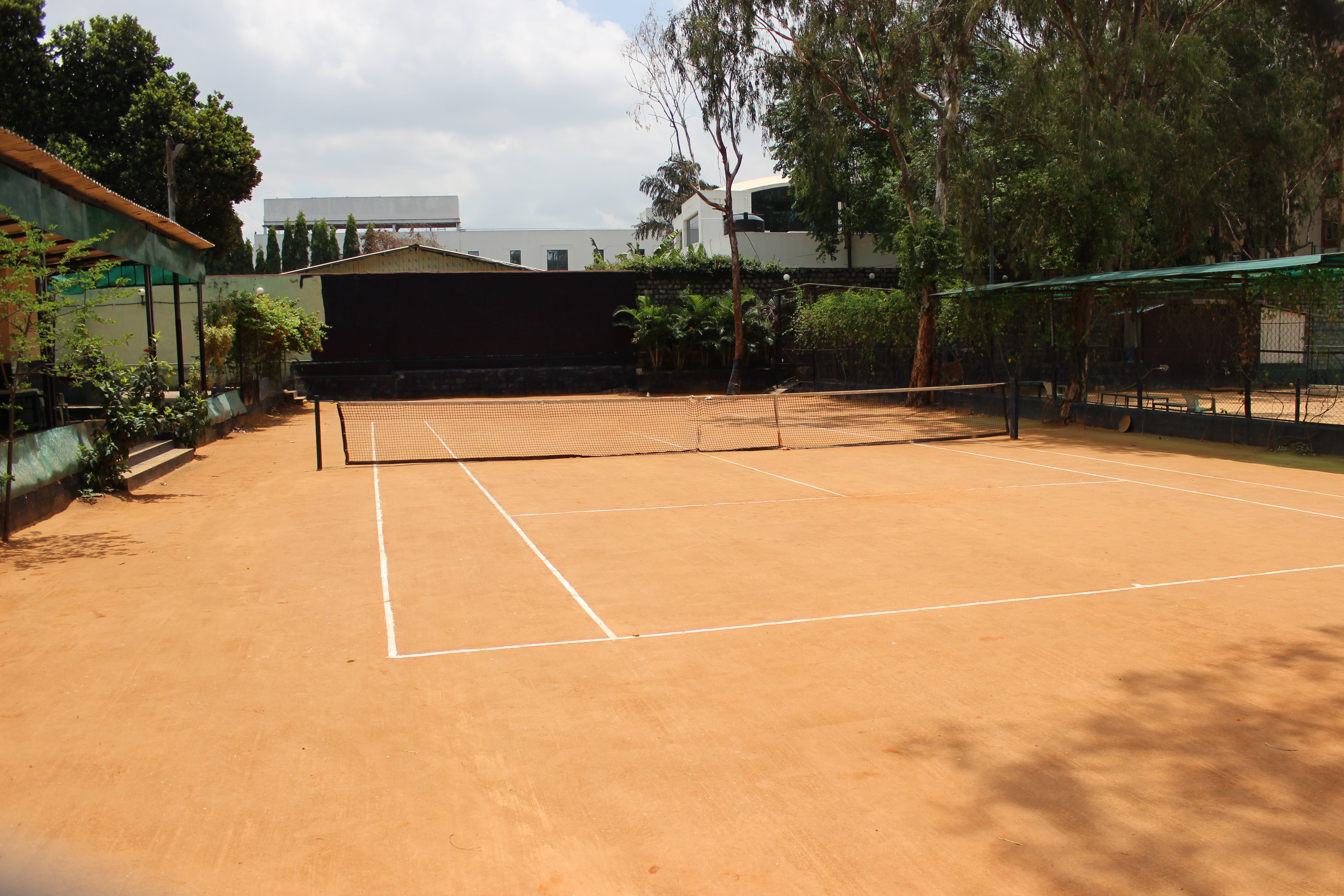 Clay Tennis courts at DHI