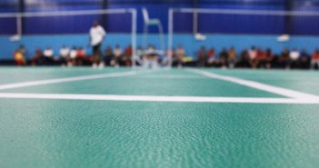 Feather Touch Badminton Academy Courts