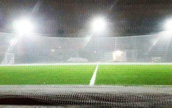Kick on Sweat on Football turf
