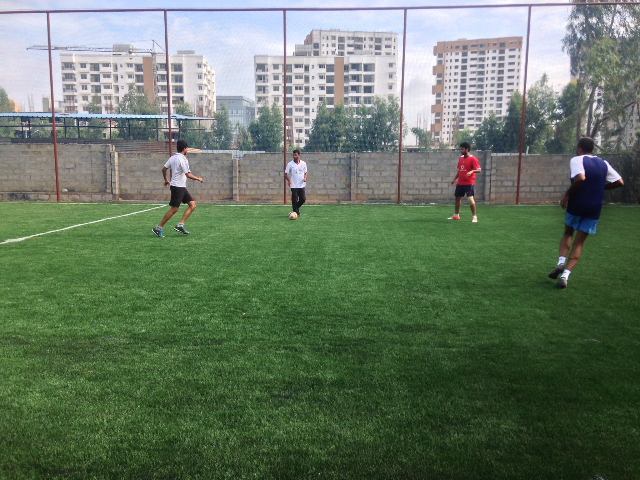 People playing at Matrix Sports Soccer Center