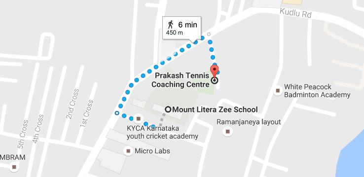 prakash tennis academy kudlu road