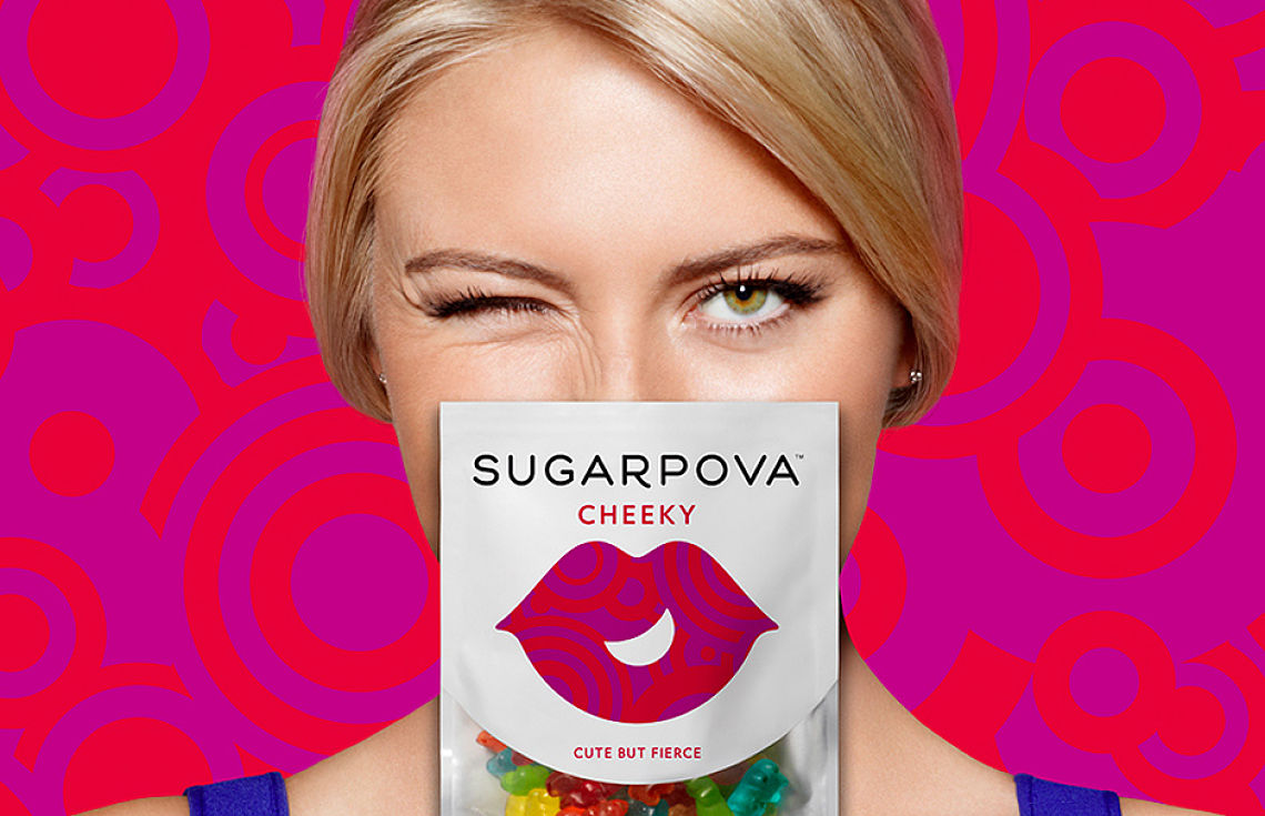 Entrepreneurs - Sharapova introducing Sugarpova