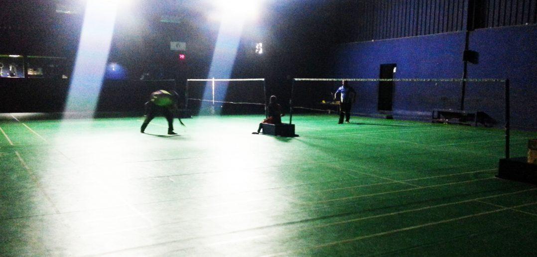 White Peacock Sports Badminton Courts