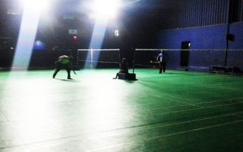 White Peacock Sports Badminton Courts