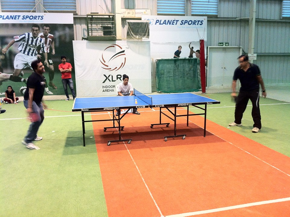 xlr8 Table Tennis facility