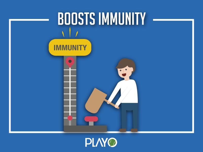 Football helps you increase immunity