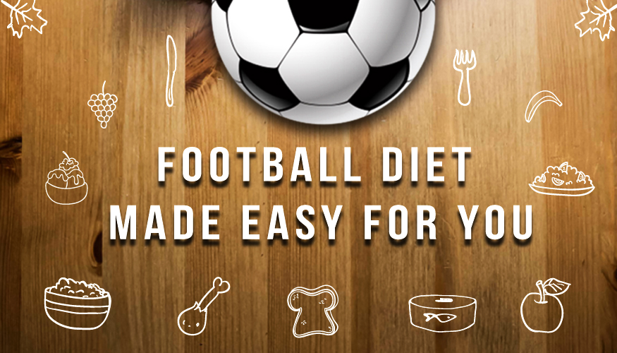 Football Diets made easy