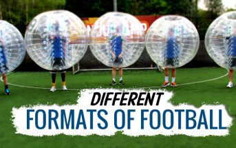 Different formats of football
