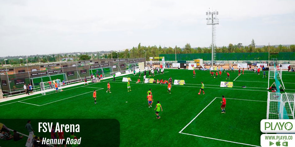 FSV Sports Arena, Hennur-Bagalur Road
