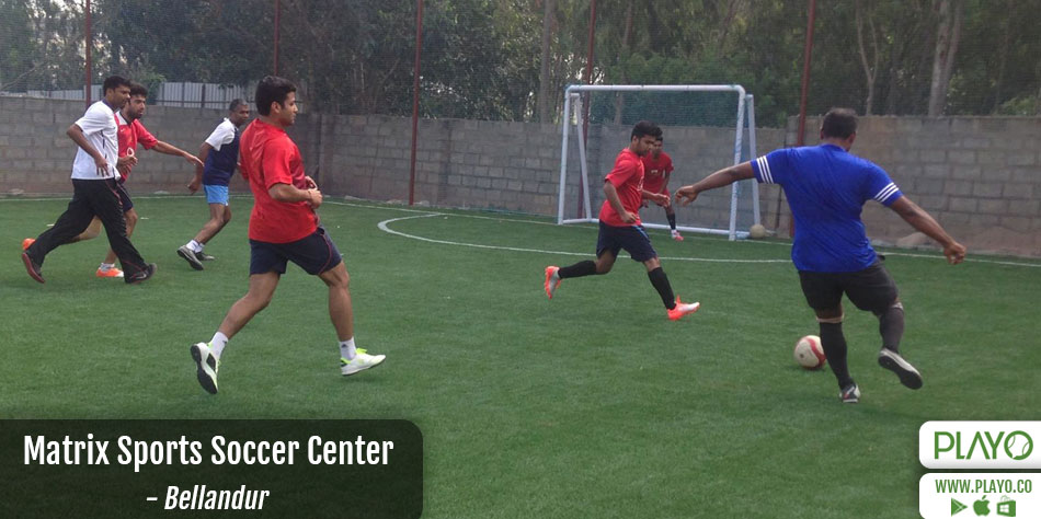 Matrix Sports Soccer Centre on Playo