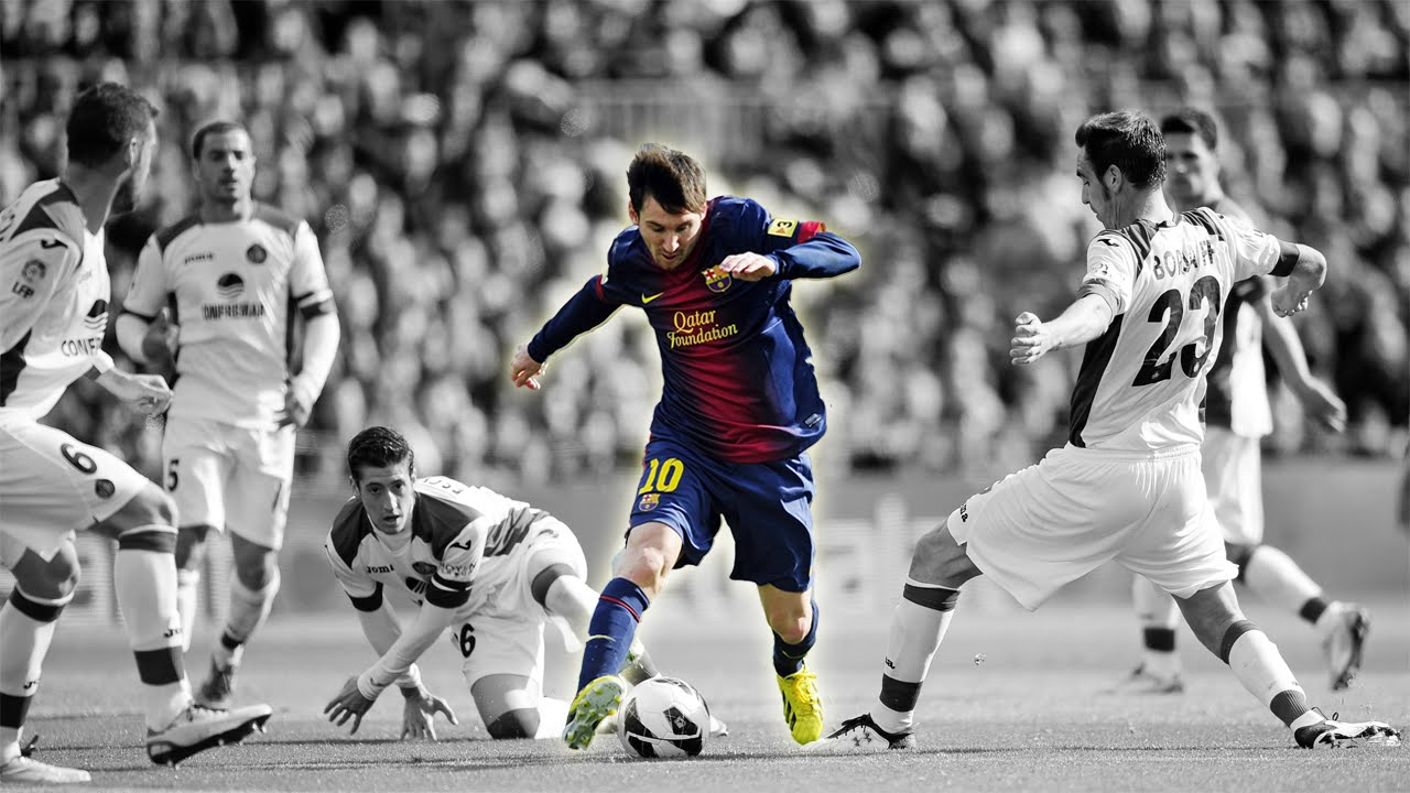 Messi the living legend of football
