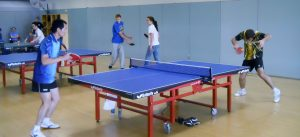 Table tennis office sport