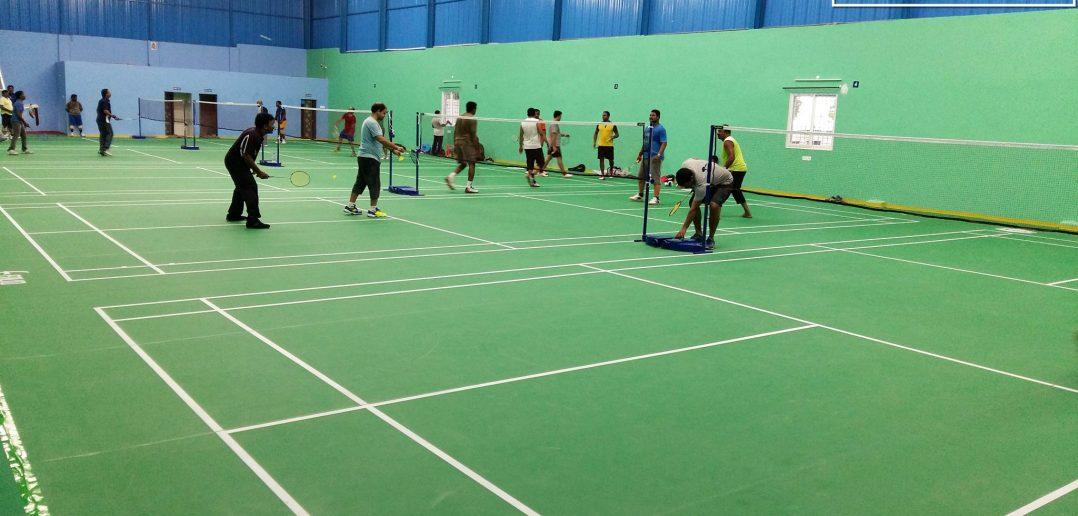 Kayns Badminton arena and gym