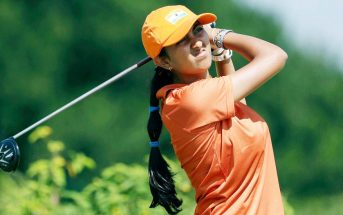 Aditi ashok golf india