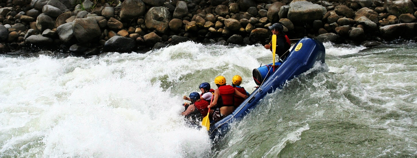 Bhalukpong white water river rafting