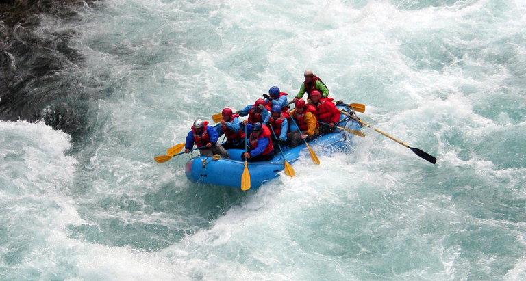 Experience River Rafting in Rishikesh