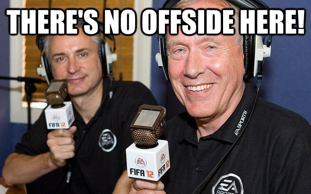 No offside rule
