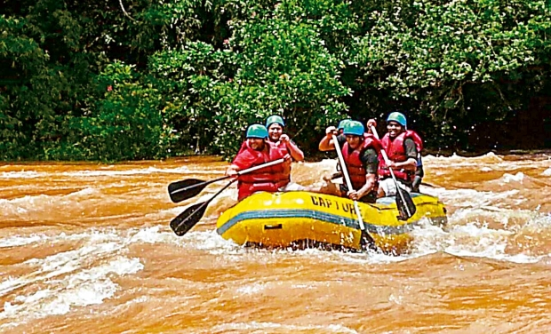River rafting in Bhadra river