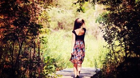 enjoy the surrounding while u take a walk