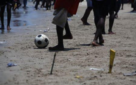 street football goal post