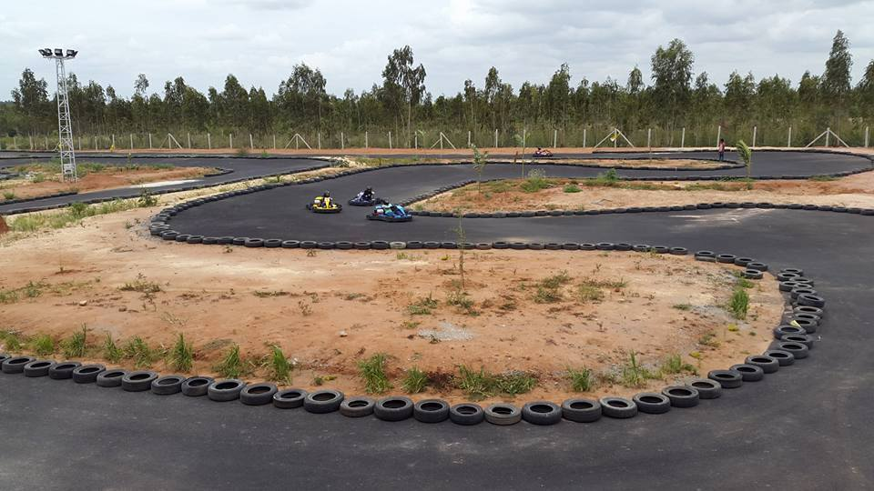 go karting at red rider sports