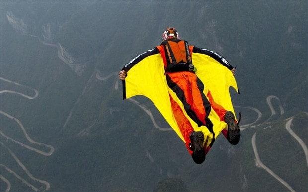 wingsuit dive
