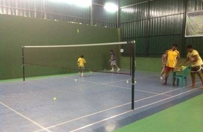 Rainbow Badminton Court