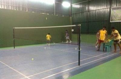 Rainbow Badminton Court