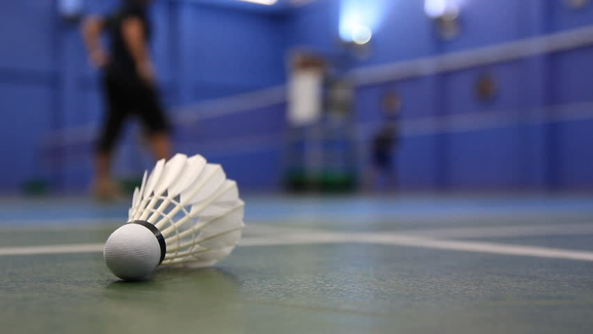 how to make badminton court