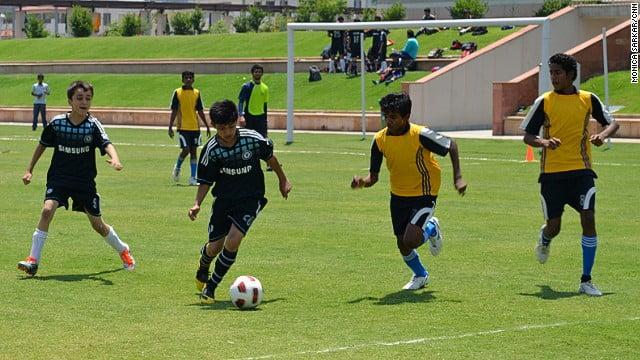 football in summer
