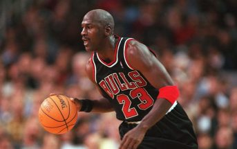 michael jordan playing basketball
