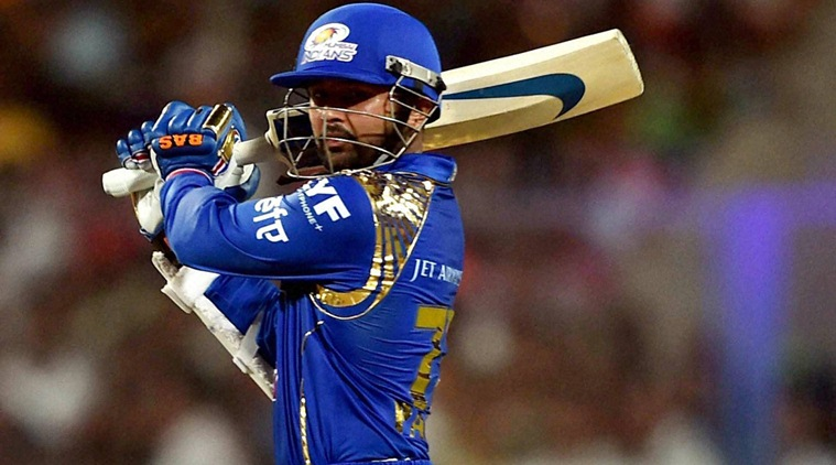 parthiv patel playing for the mumbai indians