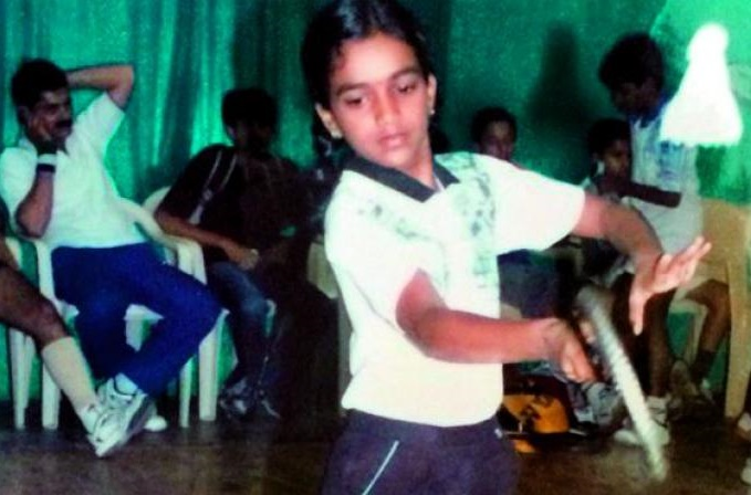 pv sindhu as a kid
